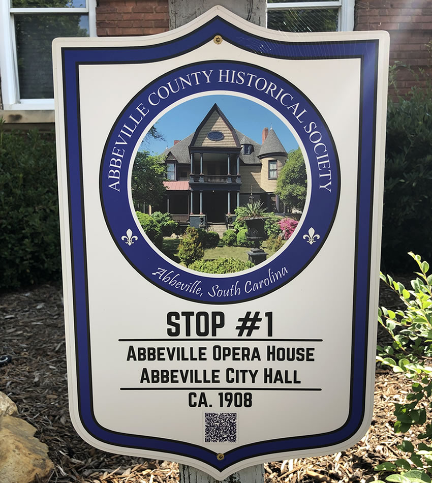 Abbeville County Historical Society Walking Tour